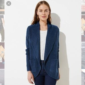 LOFT Cozy Open Cardigan - NWT! Size L